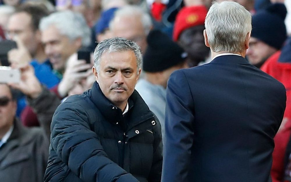 Arsene Wenger and Jose Mourinho have a fractious relationship - PA