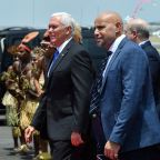 Pence pulls U-turn, will stay overnight in Papua New Guinea