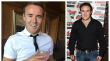 'Coronation Street' star Alan Halsall shows off dramatic weight loss