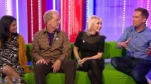 Classic Blue Peter trio reunite live on The One Show