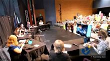 Nampa school board shuts down meeting on mask mandate after attendees boo, shout