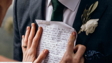 Woman pens letter describing her future spouse 3 years before she meets him