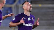 Sorriso Fiorentina, Ribery si allena in gruppo: può recuperare per il Cagliari