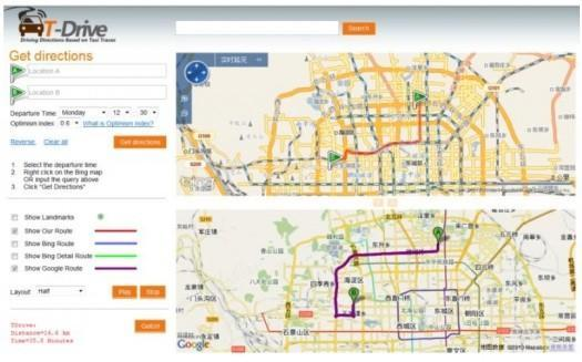 Microsoft aims to improve maps with GPS data from 33,000 Beijing cab drivers