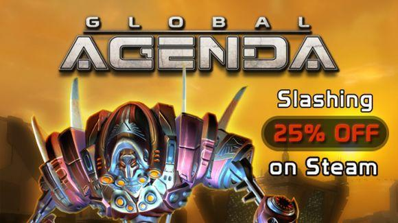 Global Agenda on sale at Steam just in time for Sandstorm patch