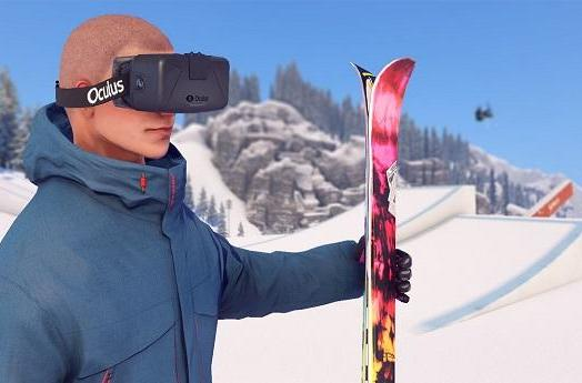 Open-world skiing game Snow drifting to PS4, Oculus Rift