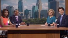 SNL's Minnesota news anchors aren't quite on the same page when it comes to Chauvin trial