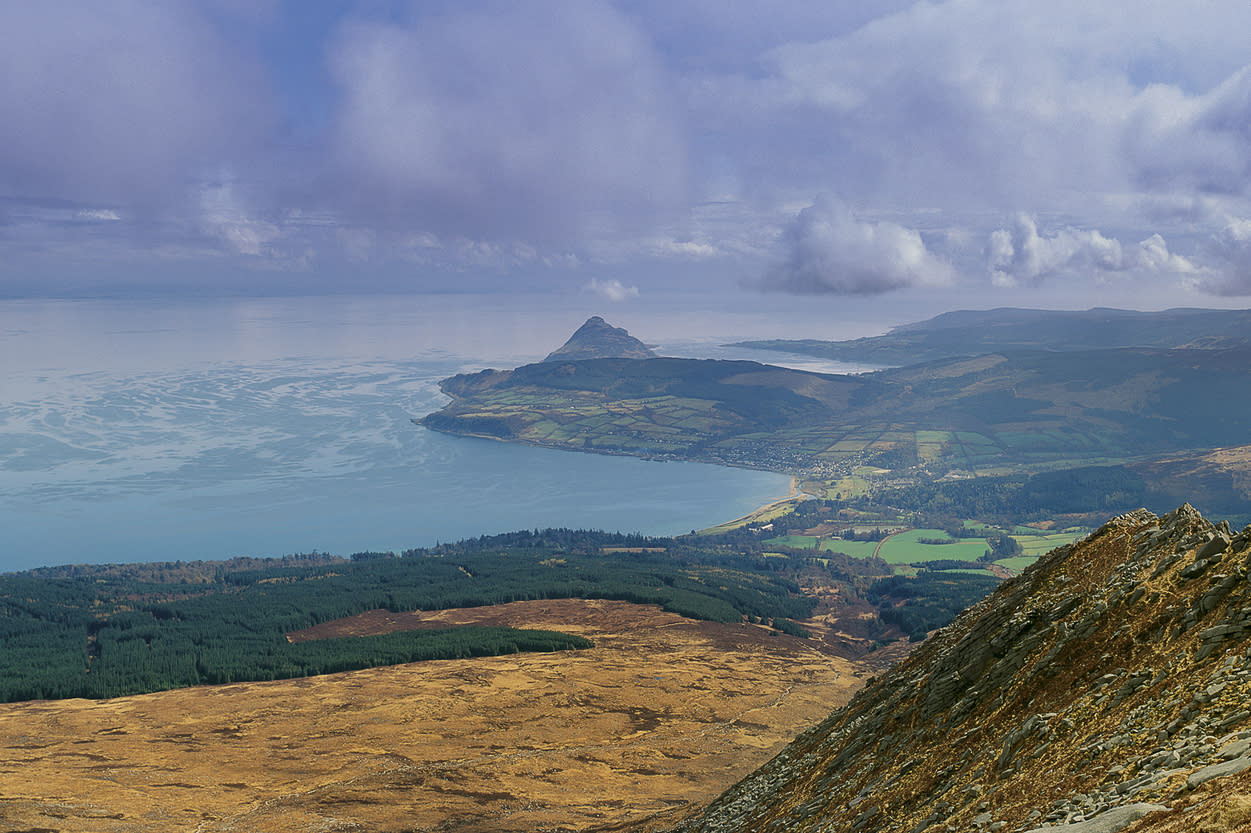 As one of the most southerly Scottish islands, Arran is also one of the most accessible. The northern part of the island is mountainous with a rugged landscape while the south boasts a softer landscape and the majority of the island's population.