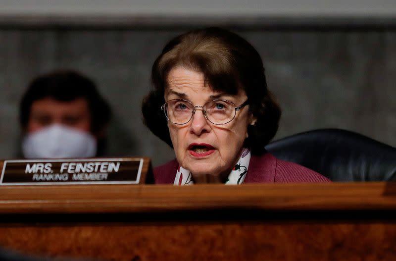 Senate Judiciary Committee holds hearing on coronavirus outbreak on Capitol Hill in Washington