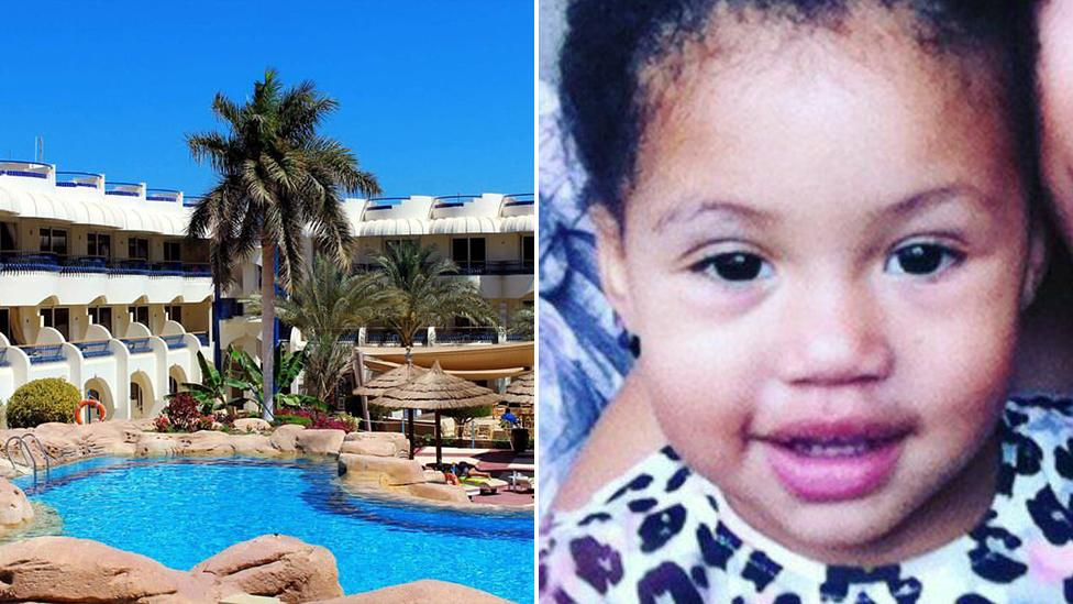 Little girl, 4, dies after falling into hotel swimming pool