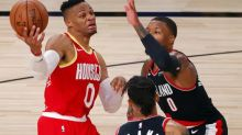 Basket - NBA - NBA : Russell Westbrook (Houston Rockets) a repris l'entraînement