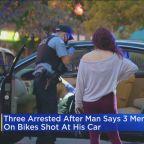 3 In Custody After Man's Car Shot Up In South Loop