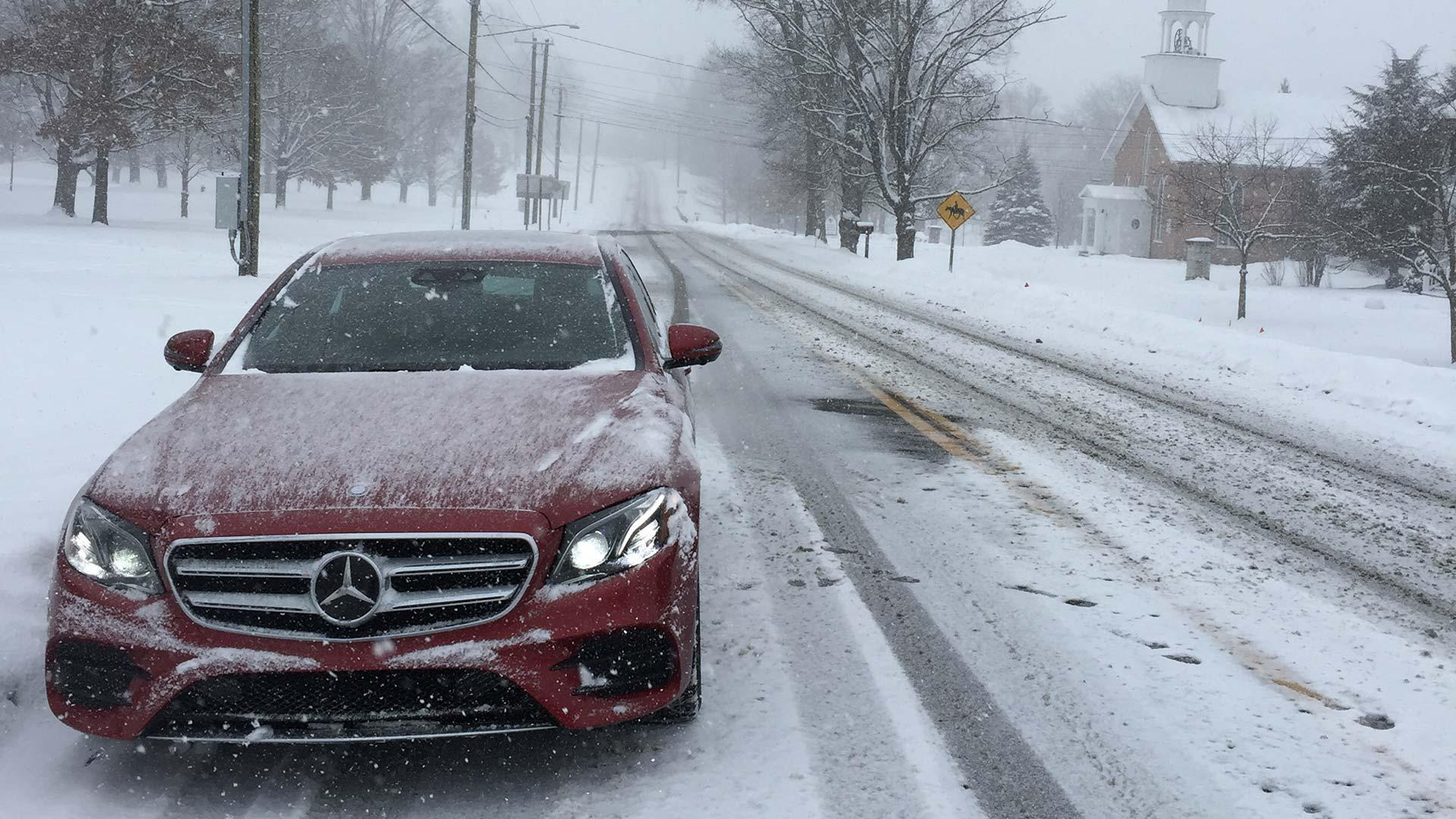 The 2017 Mercedes Benz E300 4matic May Be The Winter Car For You