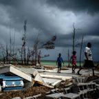 Storm reprieve: Humberto steers clear of beleaguered Bahamas, develops into hurricane
