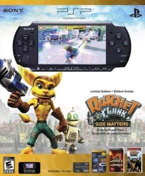 Ratchet & Clank headline another PSP-3000 bundle; you're simply thrilled