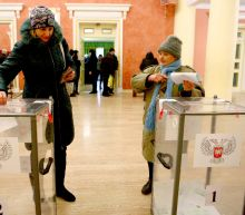 Ukraine separatists elect leaders in defiance of West