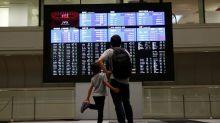 Global stocks, oil prices stumble, investors eye bonds, gold