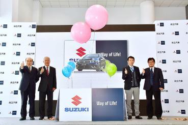 SUZUKI北台中《尚立汽車》十年有成再出發 小改款SX4同步亮相搶銷售