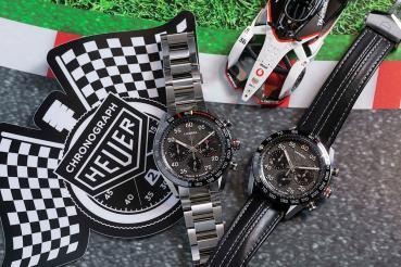 兩大傳奇、火花再現!TAG Heuer Carrera保時捷自動計時腕錶亮相