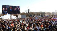 Trump decries 'permissive' U.S. abortion laws at rally
