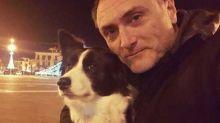 Maresciallo morto sulla Maiella, il cane dà l'ultimo saluto al padrone