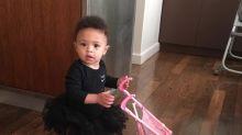 Serena Williams's daughter Olympia rocks matching Nike tutu as mom reaches U.S. Open final