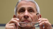 Anthony Fauci said eye coverings might eventually be recommended in the US: 'You should probably use it if you can'