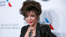 Joan Collins says harassment victims should have 'kicked the men in the groin'