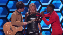 He is the Warrior: An awkward, heated exchange on 'The Four'