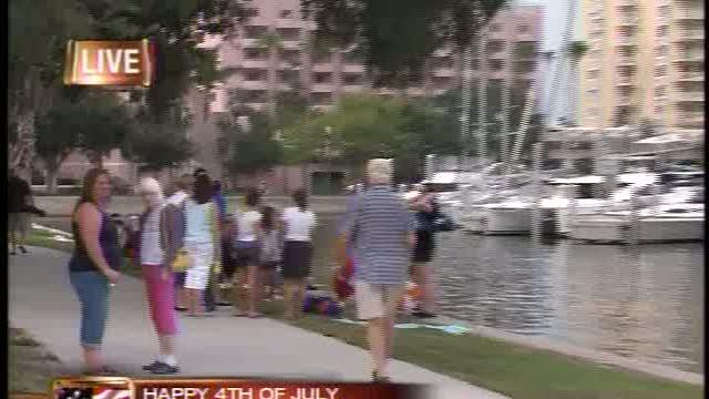 Fourth Of July Festivities Under way