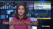 Diamondback Energy to buy Energen in all-stock deal