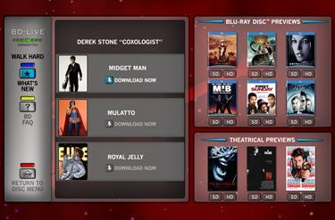 Video Bulletin Board enables mobile-to-Blu-ray player interaction