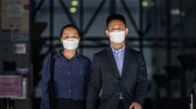Hong Kong couple acquitted of rioting charges