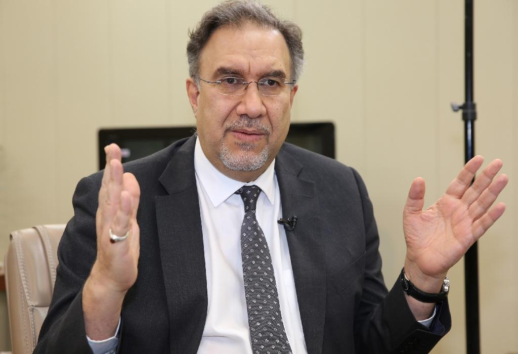 Iraq's new Electricity Minister Luay al-Khateeb is warning that politicising his country's power sector could have ripple effects around the world (AFP Photo/SABAH ARAR)