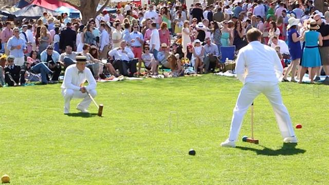 Not Your Backyard Game of Croquet