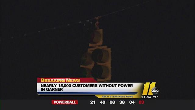 Power restored to Garner