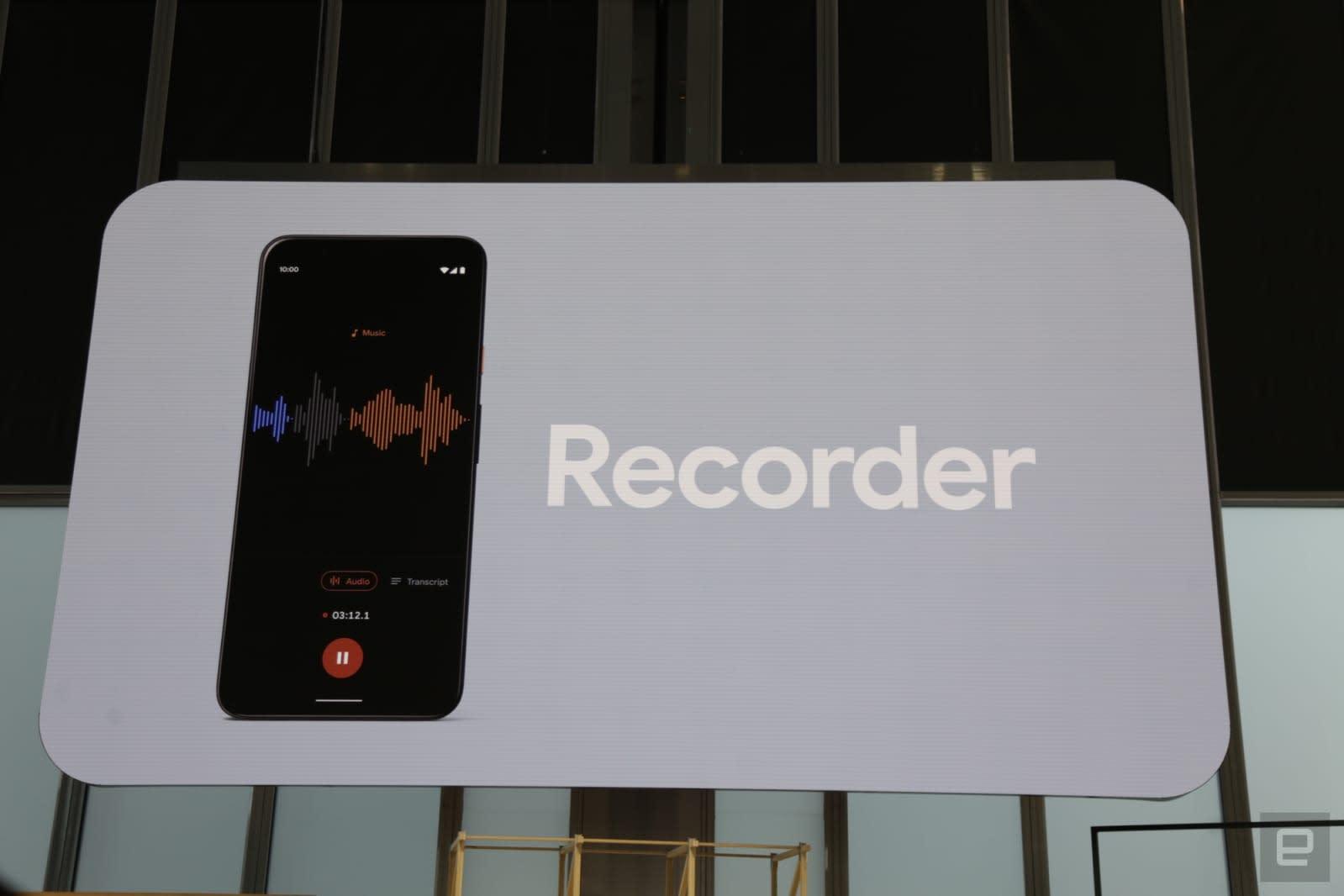 Pixel Recorder app