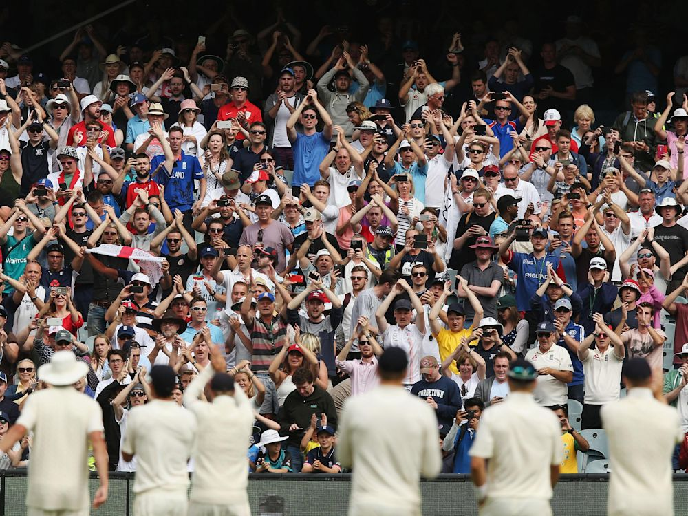 The Barmy Army soundtrack every England tour: Getty Images