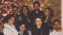 A glowing Kareena spends the last few days of her pregnancy with dear ones
