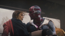 Infinity War explores Vision/Scarlet Witch relationship