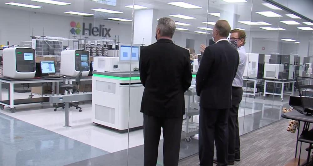 Genomics startup Helix receives $33 million in NIH funding ...