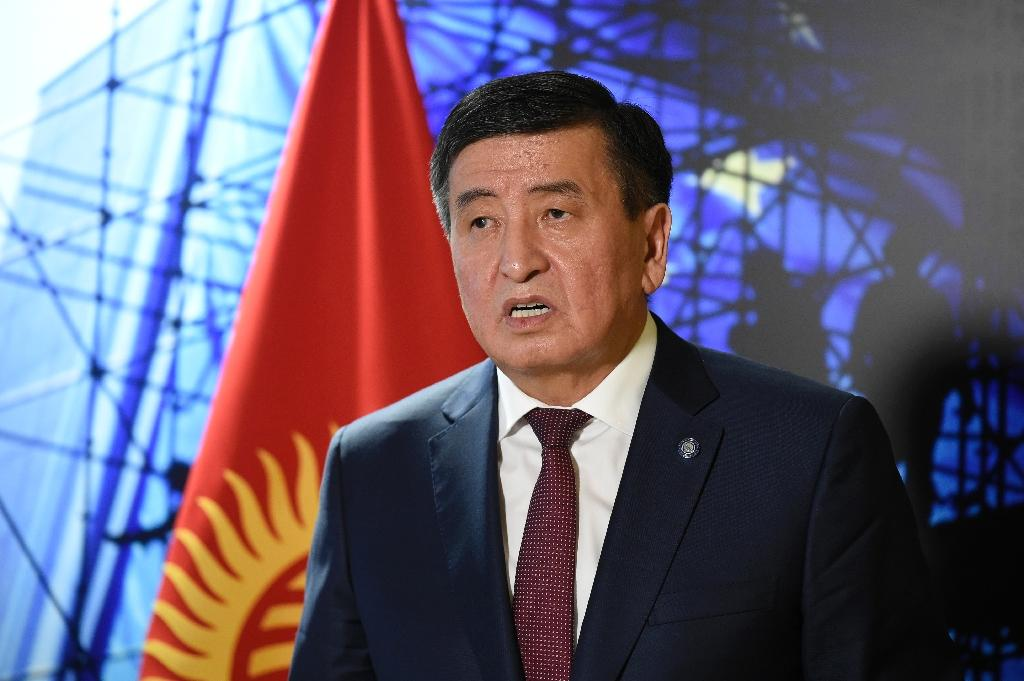 Jeenbekov came to power in a bitterly fought presidential election last year