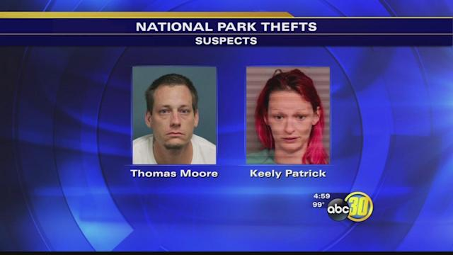 Couple arrested for stealing at Sequoia National Park
