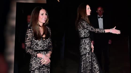 Duchess of Cambridge Recycles Temperley Dress for Wildlife Film