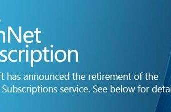 Microsoft to wind down TechNet subscriptions after August 31st