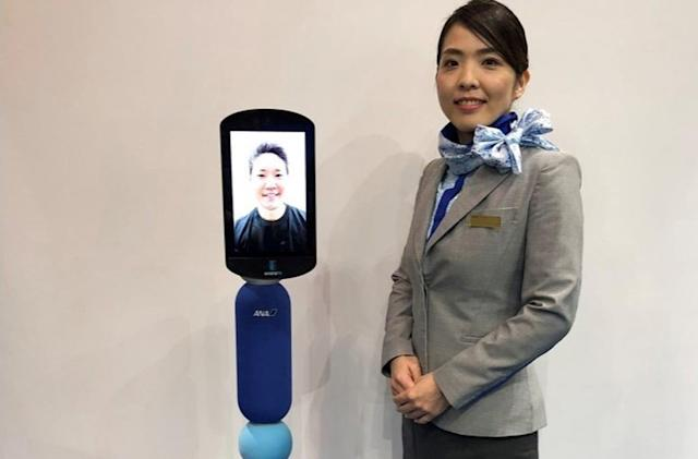 Japanese airline's robots could let the elderly 'travel' from home