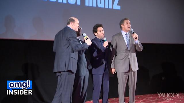 'Anchorman' Cast Sings Impromptu Version of 'Afternoon Delight' at Premiere