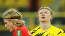 Dortmund star Haaland out of Lazio clash with leg injury