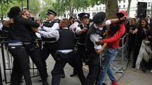 UK PM condemns George Floyd killing as protesters take to streets