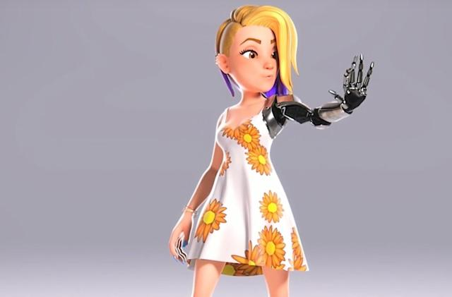 Microsoft's inclusive Xbox avatars could arrive this spring